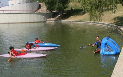 España se mueve: «Tres Cantos fomenta el piragüismo con los cursos de verano»
