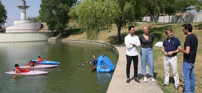 Munideporte: «Tres Cantos fomenta el piragüismo con los cursos deportivos de verano»