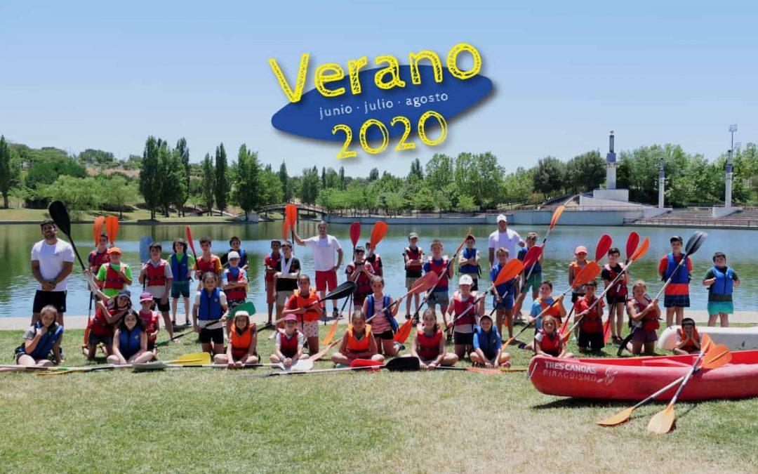 Foto de grupo Turno 1 Campus de verano 2020