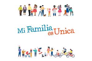 Premios concurso «Mi familia es única»